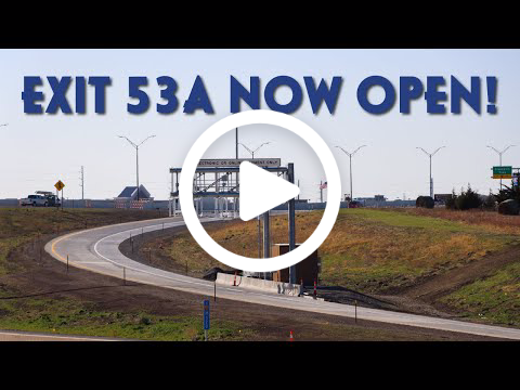 Exit 53A Now Open video